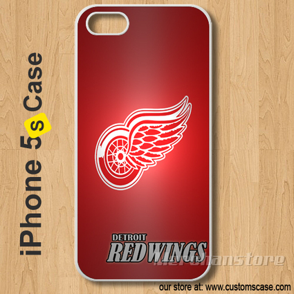 Detroit Red Wings Custom iPhone 5s Case Cover | Merchanstore - Accessories on ArtFire | Custom iPhone 5s Case Cover | Scoop.it