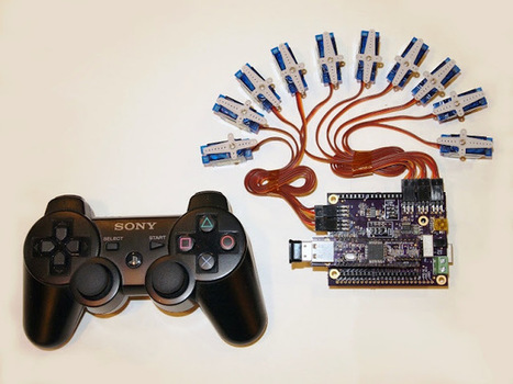 How to Use A PS3 Controller As A Wireless Servo and I/O Controller! | Open Source Hardware News | Scoop.it