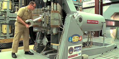 Navy's New Railgun Can Hurl a Shell Over 5,000 MPH | Danger Room | WIRED | Transportation Station | Scoop.it