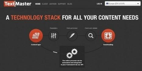 Web Marketing Tool: TextMaster - Inside Marketing   Marketing & Curiosities   Scoop.it