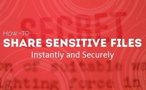 How to Share Sensitive Files Instantly and Securely | Information Science | Scoop.it