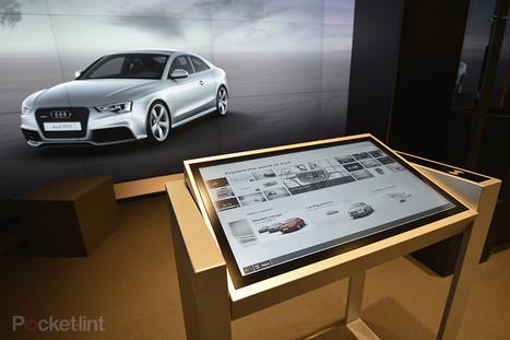 Audi City 'cyberstore': Build your own virtual Audi to drive away - Pocket-lint | Revue de presse pour commerçants connectés | Scoop.it