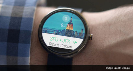 Here Comes Android Wear, Android for Wearables | Embedded Systems News | Scoop.it