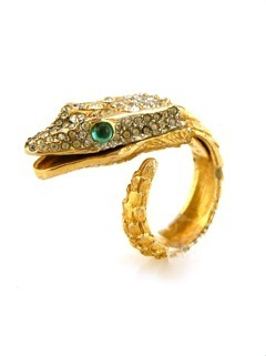 Product of the Day | Snake Ring, Estate Jewels by George & Raf, Fort Greene | Spotlight | New York Boutiques | Scoop.it