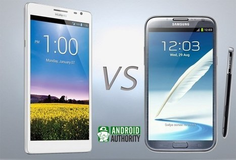 Huawei Ascend Mate vs Samsung Galaxy Note 2 | Mobile IT | Scoop.it