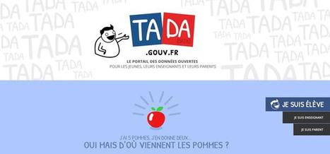 Tada.gouv.fr : faire de l'open data un outil scolaire | Libertés Numériques | Scoop.it