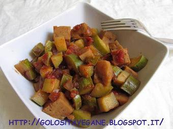 Golosità Vegane: Stufato di seitan e zucchine | Seitan & dintorni | Scoop.it