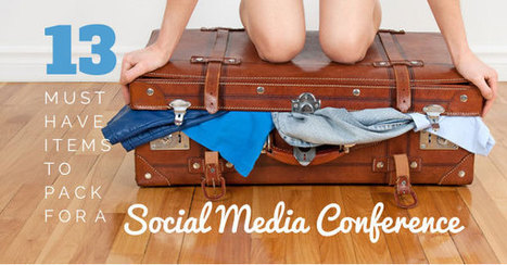 13 Must-Have Items to Pack for a Social Media Conference | Communications 4 Development | Scoop.it