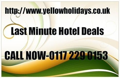 Last Minute Hotel Deals | last second holidays | Scoop.it