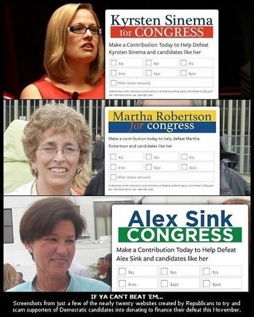 Republicans' Fraudulent Candidate Websites, Fundraising Merit ... | Fundraising Actus | Scoop.it