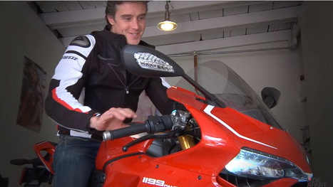 Video Review: Ducati 1199 Panigale R - RideApart | Ductalk Ducati News | Scoop.it