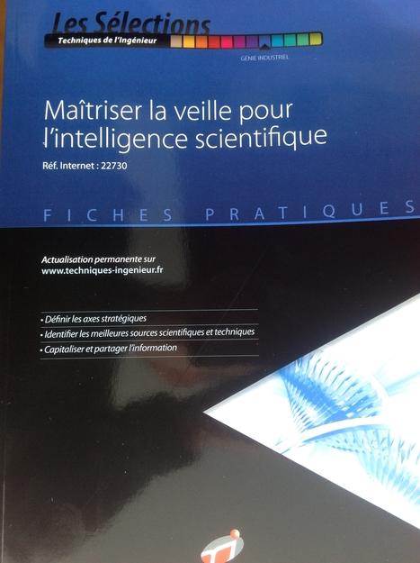 Ouvrage : Maîtriser la veille pour l'intelligence scientifique | Cartes mentales | Scoop.it