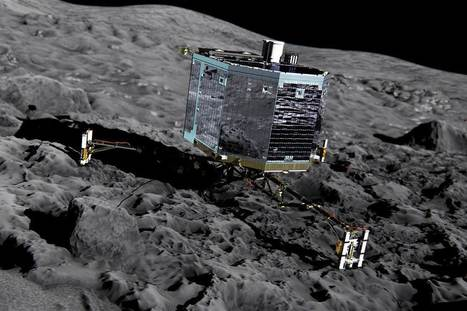 Philae Lander's Data Reveal Surprising Details About Comet | Science, Space, and news from 'out there' | Scoop.it