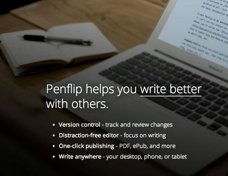 Penflip - a social writing platform | Problem-Project Based Learning | Scoop.it