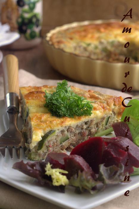gratin de courgettes | Cuisine Algerienne, cuisine marocaine, cuisine tunisienne, cuisine indienne | Scoop.it