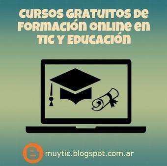 7 plataformas en las que encontrarás cursos gratuitos para formarte en TIC y educación | EduTIC | Scoop.it