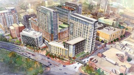 Construction begins on Whole Foods-anchored Towson Row - Baltimore Business Journal   Suburban Land Trusts   Scoop.it