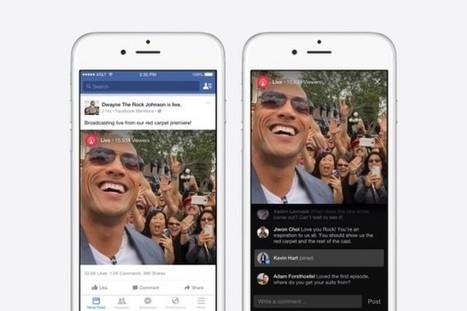 Nouveautés Facebook : vidéos en live streaming et contacts facilités entre les pages et les fans - Blog du Modérateur | Actualités des réseaux sociaux | Scoop.it