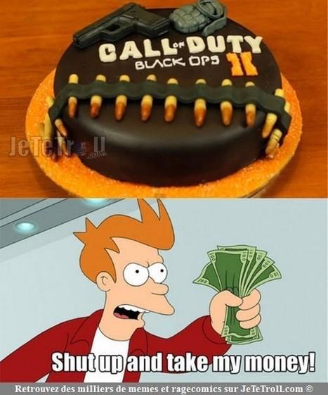 Le gâteau d'anniversaire d'un ami... | Trollface , meme et humour 2.0 | Scoop.it