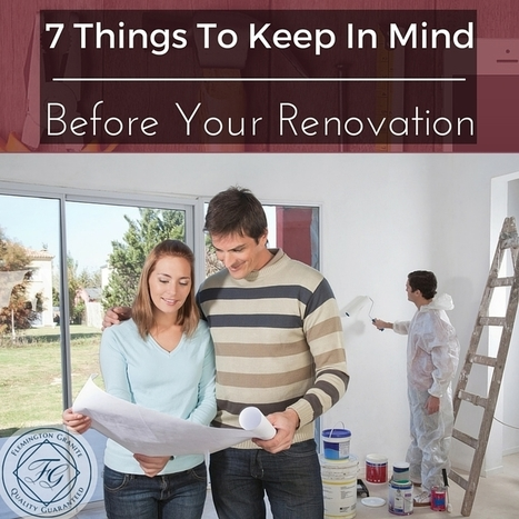 7 Things To Keep In Mind Before Your Renovation - Flemington Granite | Home Improvement, Modular Construction, Modular Buildings, Prefabricated Building | Scoop.it