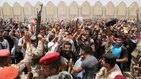 Choosing Rebels Over Army, Iraqis Head Home | future | Scoop.it