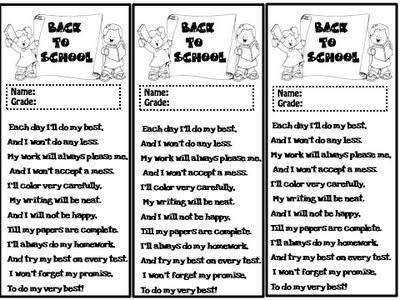 BACK TO SCHOOL (poem) | school | Scoop.it