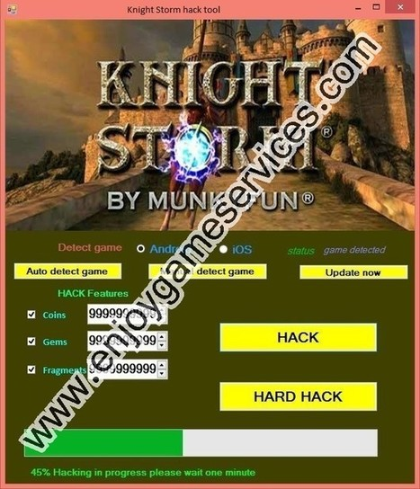 Knight Storm hack | game | Scoop.it