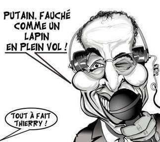 """Tout à fait, Thierry"" ! ... 