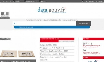 Veille strategique - moteurs de recherches de données publiques | Educación flexible y abierta | Scoop.it