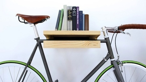8 Creative Ways to Store Your Bike - Eleanor's | Stylish Bicycle Accessories for Ladies | Calgary Home Builders | Scoop.it
