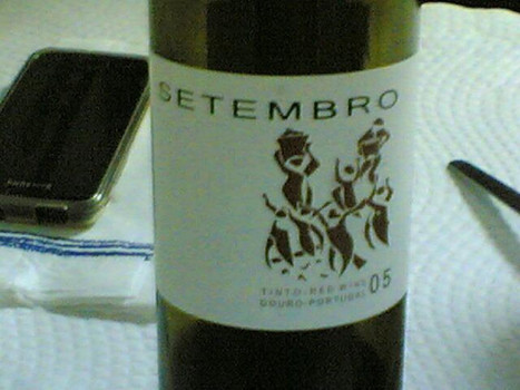 Setembro Tinto 2005 #vinhodanoite on Twitpic | #vinhodanoite | Scoop.it