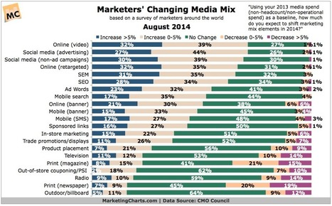 How is the Marketing Media Mix Changing? | Health | Scoop.it