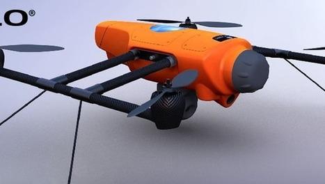 Des drones pour détecter les incidents sur le réseau électrique | Le groupe EDF | Scoop.it