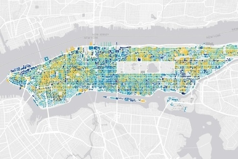 Mapping the Age of EVERY Building in Manhattan | URBANmedias | Scoop.it