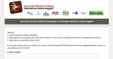 Aberta inscrição para curso EAD sobre combate ao Aedes aegypti | Inovação Educacional | Scoop.it