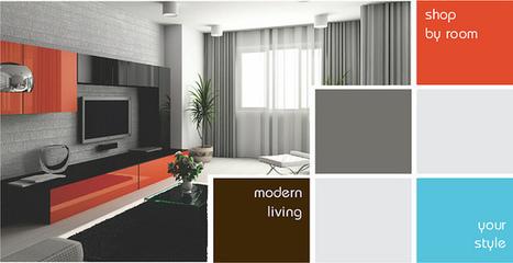 Modern Furnitures -  Baxton Studio Griffith Dark Brown Mid-Century Modern Nesting Table Set | Zynga LLC | Scoop.it