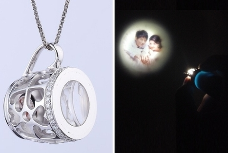 Projection pendant projects you priceless photographs on the wall | DamnGeeky | DamnGeeky | Scoop.it