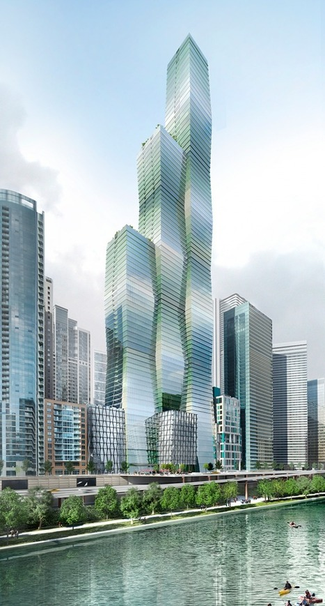 Torre Wanda Vista, entre las más altas de Chicago. | METALOCUS | terres en rive du monde | Scoop.it