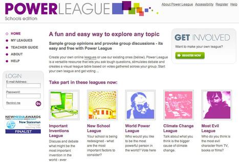 Power League - Stimulate online debates & Discussions | Digital Literacy | Scoop.it