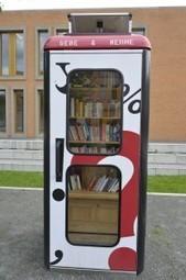 Des cabines téléphoniques recyclées en bibliothèques | Autres Vérités | Scoop.it