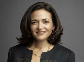 "Sheryl Sandberg's book ""Lean In"" on Women and Leadership 