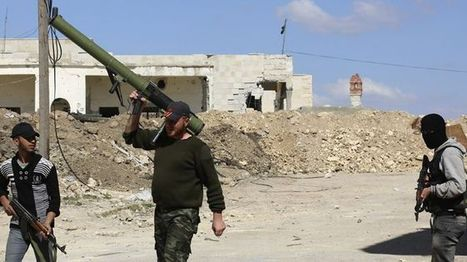 US sends small number of advanced weapons to Syrian rebels   The REAL History of America: Half-truths, Indoctrination, and Capitalism out of Control   Scoop.it