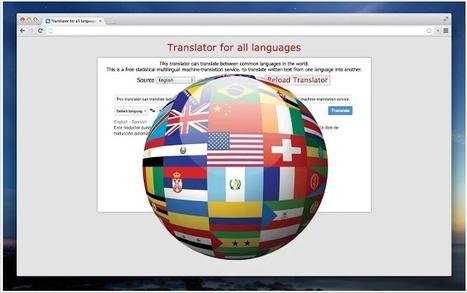 Google Translate | Infografía. Google Chrome y sus extensiones en la Educación | Scoop.it