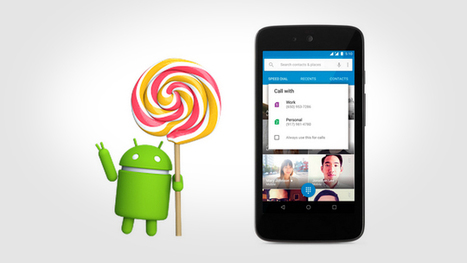Google Announces Android 5.1 with Device Protection, HD Voice | mlearn | Scoop.it