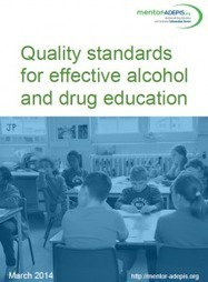 Quality standards for effective alcohol and drug education | Health promotion. Social marketing | Scoop.it