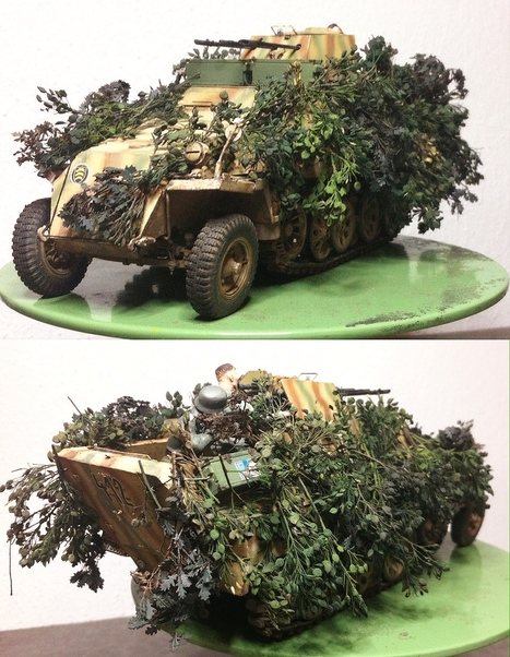 107.Pz.Brig. - Sd.Kfz.251/21 | Military Miniatures H.Q. | Scoop.it