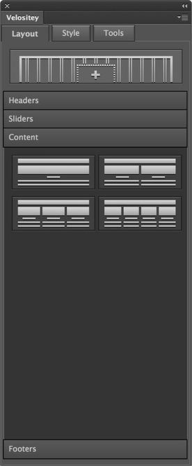 Velositey - Website Layout Builder for Photoshop | Photoshop Tutorial | Scoop.it
