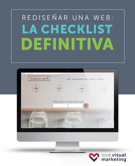 Rediseñar una web: la checklist definitiva | Social Media | Scoop.it