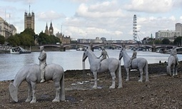 Underwater sculptures emerge from Thames in climate change protest | Greening the Media Ecosystem | Scoop.it
