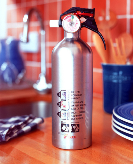 Different Types of Fire Extinguishers, Portable Fire Extinguisher for Kitchen safety | Modern Kitchen Designs | Scoop.it